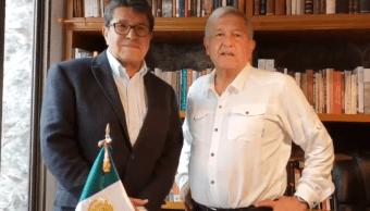 amlo reunion senador electo ricardo monreal