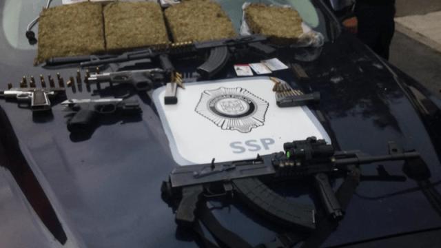 detienen drogas armas ctm culhuacan perativo