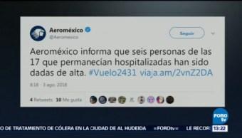 Salen Hospital Seis Lesionados Accidente Avión Durango