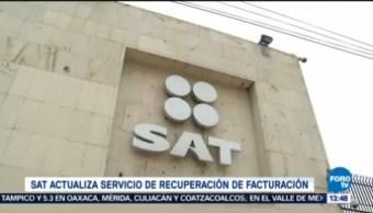 Sat Actualiza Recuperación Factura Electrónica