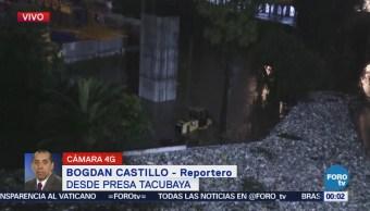 Desborda Presa De Tacubaya 20 Viviendas Están En Riesgo