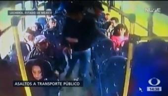 Registran Dos Asaltos Transportes Públicos