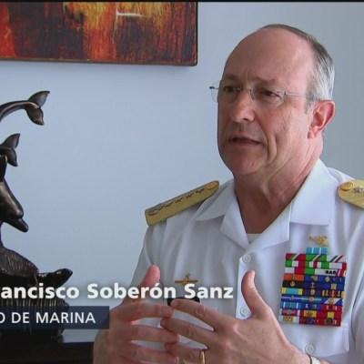 Secretario de Marina destaca el trabajo en equipo