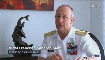 Secretario Marina Destaca Importancia Velas Latinoamérica Vidal Francisco Soberón Sanz, Secretario De Marina
