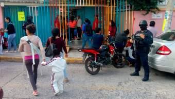 Reinicio de clases en Guerrero con vigilancia militar