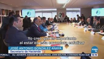 Senadores Electos PRI Se Reúnen González Anaya