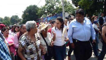 Claudia Sheinbaum asegura apoyos para damnificados por sismo