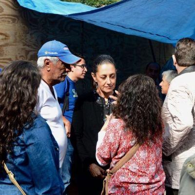Sheinbaum: Censo de daños por sismo iniciará en septiembre