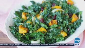Siete beneficios del kale