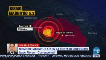 Daños Guerrero Sismo Magnitud Sábado Agosto