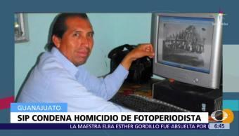 SIP condena asesinato del fotoperiodista Rodolfo García