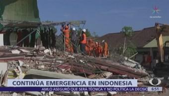 Suman 142 muertos por sismo en Indonesia
