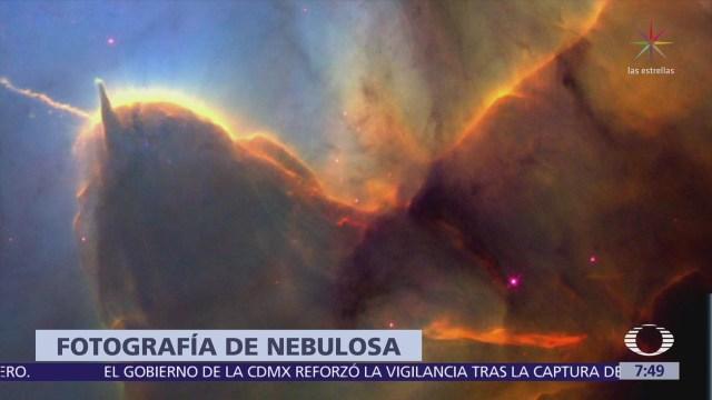 Telescopio Hubble capta fotos de la nebulosa Tífida