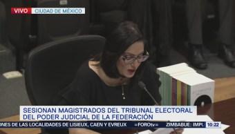 TEPJF inicia sesión para declaración de presidente electo