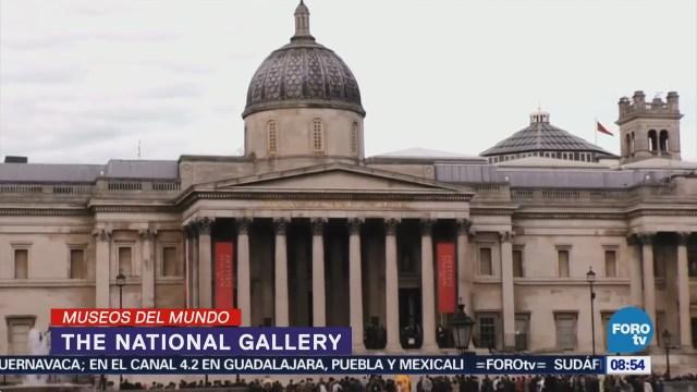 The National Gallery es considerado uno de los museos más visitados mundialmente