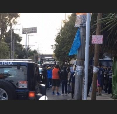 Asesinan a conductor en la delegación Iztacalco, CDMX