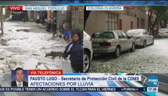 Tlalpan y Azcapotzalco, afectados por inundaciones