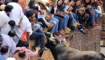Huamantlada en Tlaxcala deja seis heridos