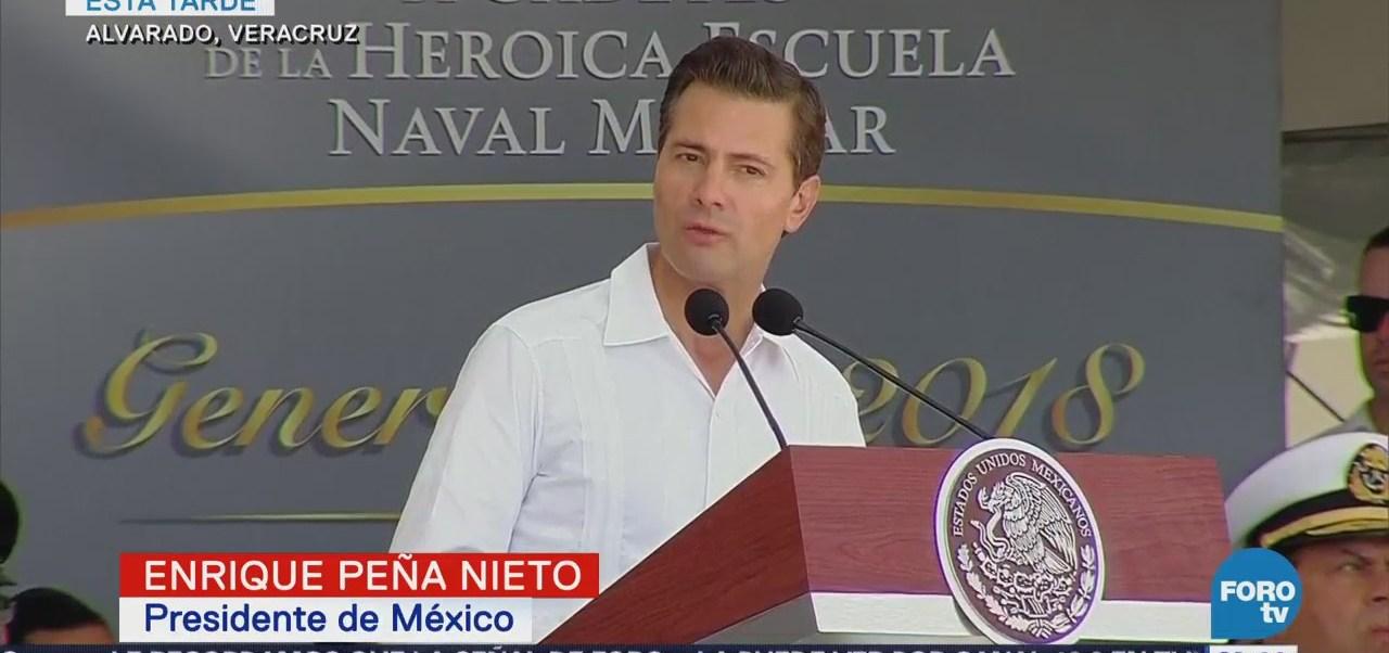 Transición Gobierno Ordenada Eficaz Peña Nieto