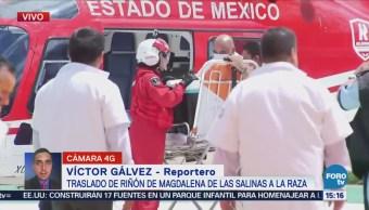 Trasladan riñón a hospital La Raza