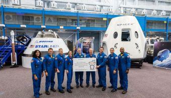 NASA anuncia tripulación que viajará al espacio