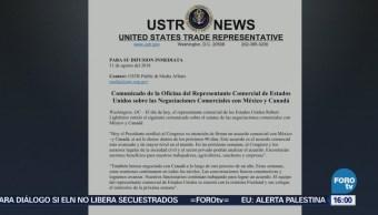 Trump Busca Firmar Acuerdo Comercial Canadá Y México