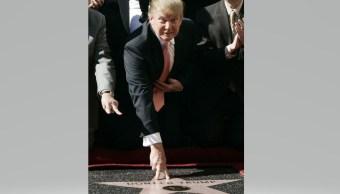 Trump podría perder estrella en Paseo de Fama de Hollywood