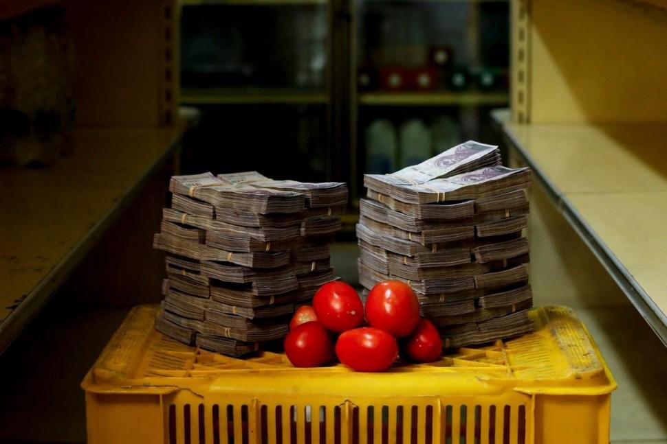 Un kilo de tomates tiene un valor de 5 millones de bolívares, equivalente a 0.76 dólares