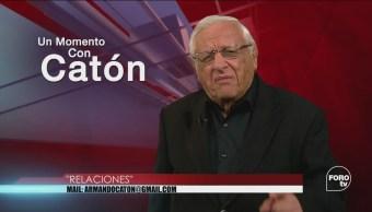 Un Momento Armando Fuentes Catón Agosto