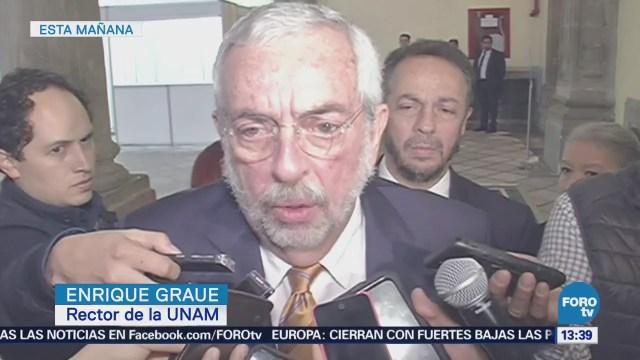 UNAM podría recibir más recursos del Gobierno, dice Graue