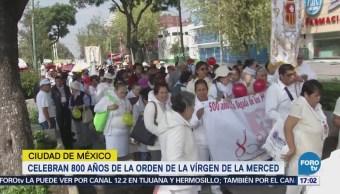 Peregrinación Basílica Guadalupe Virgen La Merced