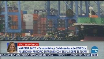 Valeria Moy analiza acuerdo en principio entre México y EU