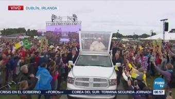 Víctimas se decepcionan de la visita del papa en Irlanda