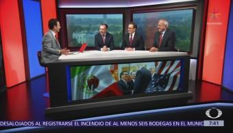 Videgaray, Guajardo y Seade destacan trabajo en equipo para acuerdo EU