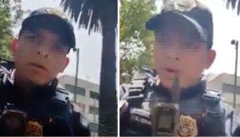 video-policia-de-la-cdmx-intenta-amedrentar-a-conductor-con-reglamento-inventado
