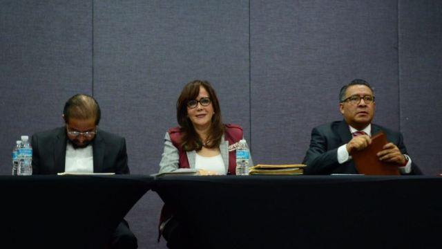 Yeidckol Polevnsky defiende diputaciones de Morena