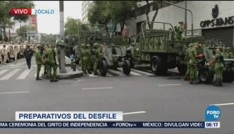 Soldados Participarán Desfile Militar Cdmx Zócalo
