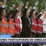 6 estados y CDMX realizan simulacro de sismo conmemorativo