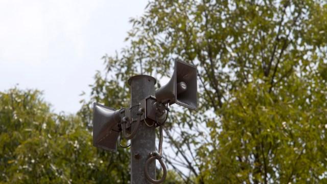 CDMX: Hoy hay prueba de audio en altavoces de alerta sísmica