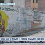 A un año del sismo que derrumbó el edificio Álvaro Obregon