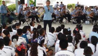 Filarmónica de Acapulco realiza conciertos didácticos