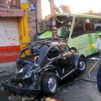 Camión atropella a decenas de personas en Cuautepec, Gustavo A. Madero