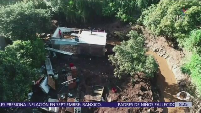 Continúa la situación de emergencia en Peribán, Michoacán