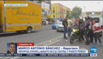 Ambulancia Atropella Dos Personas Viajaban Motocicleta