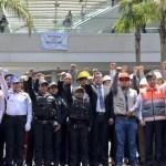 Amieva encabeza ceremonia de conmemoración de sismos