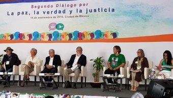 AMLO se reúne con organizaciones y víctimas de violencia