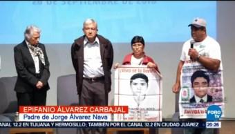 Amlo Se Reúne Padres Normalistas Ayotzinapa Desaparecidos