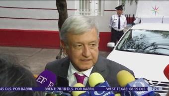 AMLO se reunió con el gobernador del Banco de México