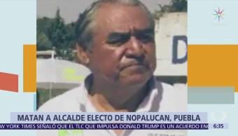 Asesinan al alcalde electo de Nopalucan, Puebla