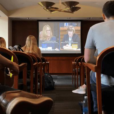La audiencia que enfrentó al juez Kavanaugh con su acusadora